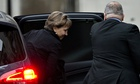 Marina Litvinenko arrives for the second day of an inquiry into her husband's death
