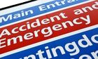 Satisfaction with A&E services rose by five percentage points.
