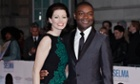 David Oyelowo and his wife, Jessica, at the London premiere of Selma.