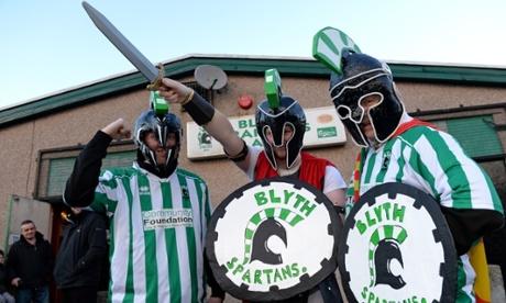 Blyth Spartans fans.