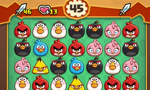 Angry Birds set sights on Candy Crush with new mobile puzzle games