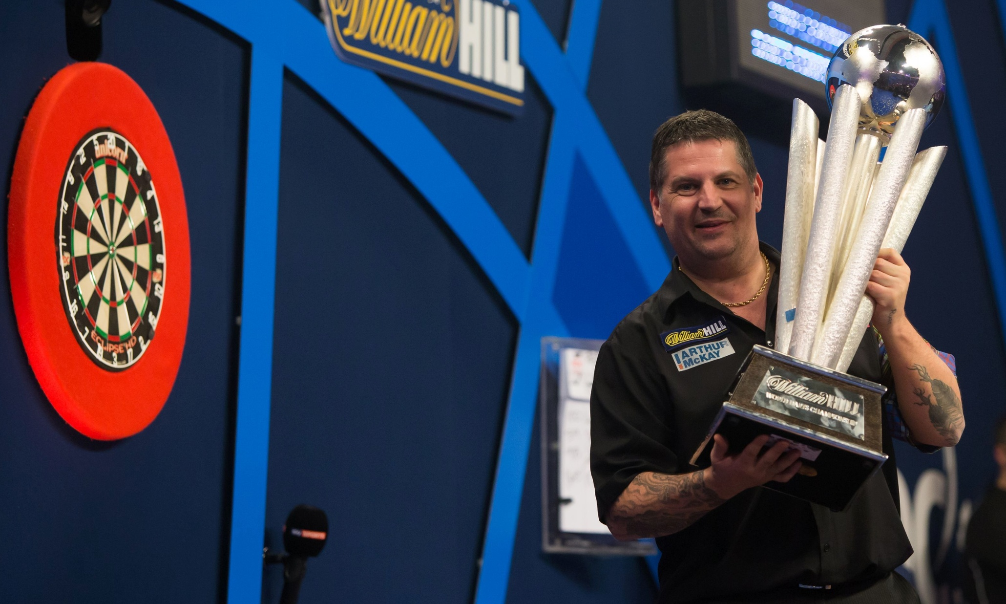 Gary Anderson beats Phil Taylor to be crowned world champion | Sport | The Guardian