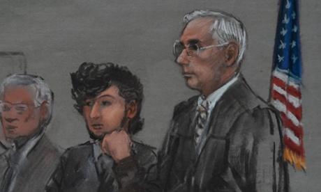 Dzhokhar Tsarnaev 'impassive' as Boston Marathon bombing trial begins