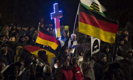 German leaders condemn xenophobia after Pegida protests