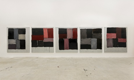 Kind of Red (2013) by Sean Scully.