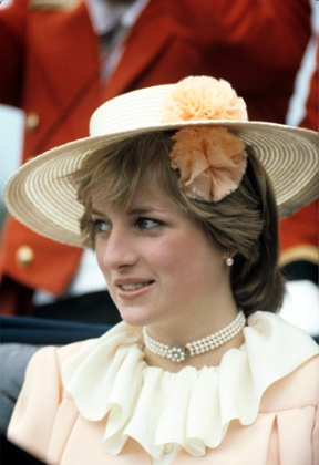 Lady Diana Spencer at Ascot in 1981.