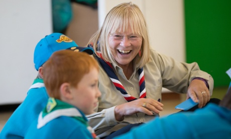 Scouts' first female leader vows to get more girls round the campfire