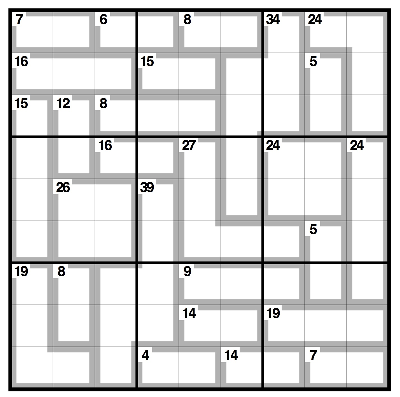 picture regarding 16 Square Sudoku Printable named Observer killer sudoku Lifetime and design The Parent