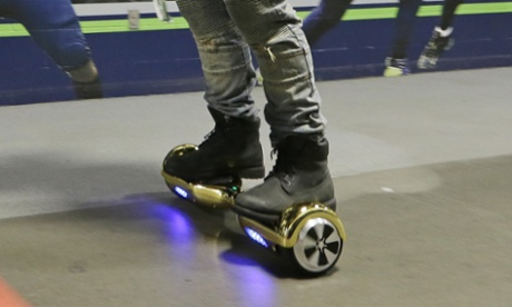 'Hoverboards' are illegal on both pavements and roads, CPS confirms