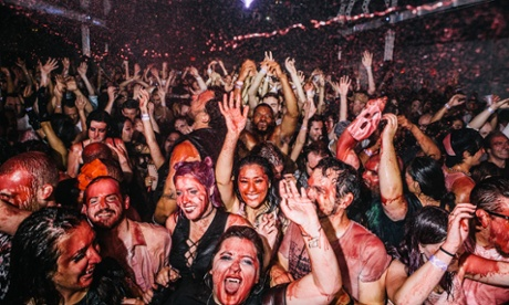 Blade Rave: the club night where blood rains from the ceiling