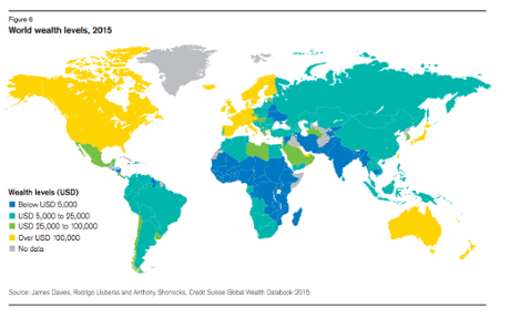 Credit Suisse wealth report 2015