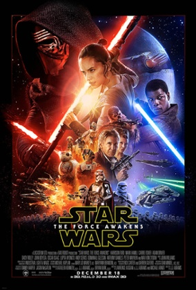 The Star Wars: The Force Awakens poster