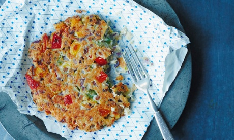 South Indian mixed-vegetable pancakes