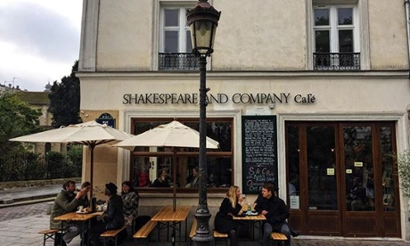 Paris bookshop Shakespeare and Company opens cafe