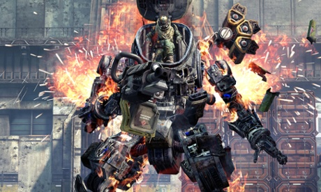 Console game Titanfall to spawn a series of freemium mobile games