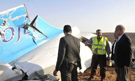 Russian plane crash: investigation begins into cause of Sinai crash