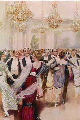A ball at the Savoy, c1911.