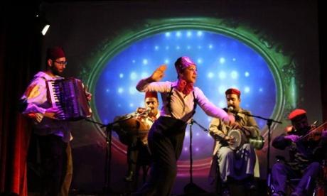 Beirut's funky Metro al Madina cabaret club