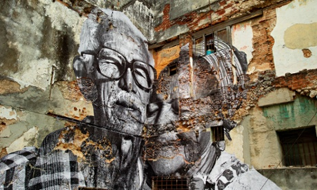 Can art change the world? The work of street artist JR – in pictures