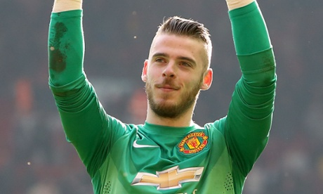David de Gea 'really happy' at Manchester United and grateful to Louis van Gaal