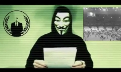 Anonymous 'at war' with Isis, hacktivist group confirms