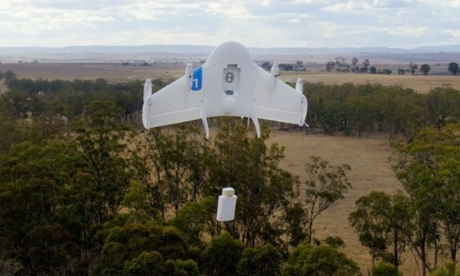 Google aims for drone deliveries by 2017