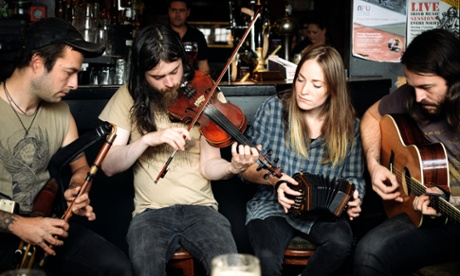 Lynched: the Irish folk stars who are 'more punk than punk'