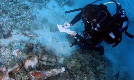 Greek archipelago yields abundance of wrecks