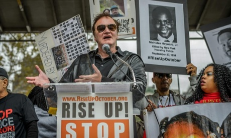 Quentin Tarantino refuses to back down in police brutality row