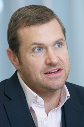 Andy Harding speaks at a Guardian roundtable discussion