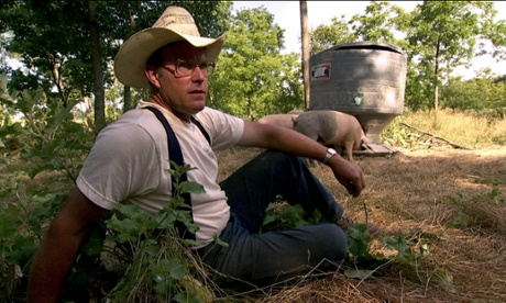 Learn to love the pigginess of a pig, says America's farmer rockstar Joel Salatin