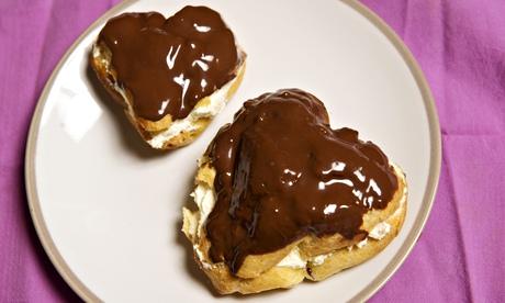 Jack Monroe's choux pastry hearts recipe