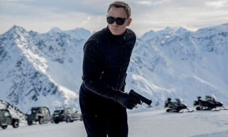 Spectre: watch footage from the James Bond shoot in Austria