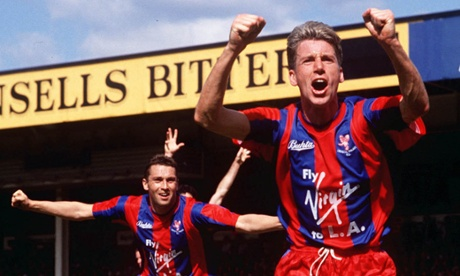 Alan Pardew in 1990.