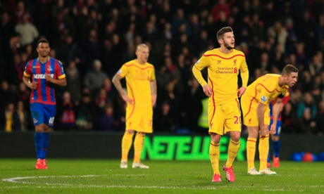Liverpool's Skrtel, Lallana and Henderson downbeat after Fraizer Campbell's goal.