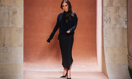Victoria Beckham unveils sexier collection in New York
