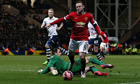 Wayne Rooney in penalty controversy in United FA Cup win over Preston