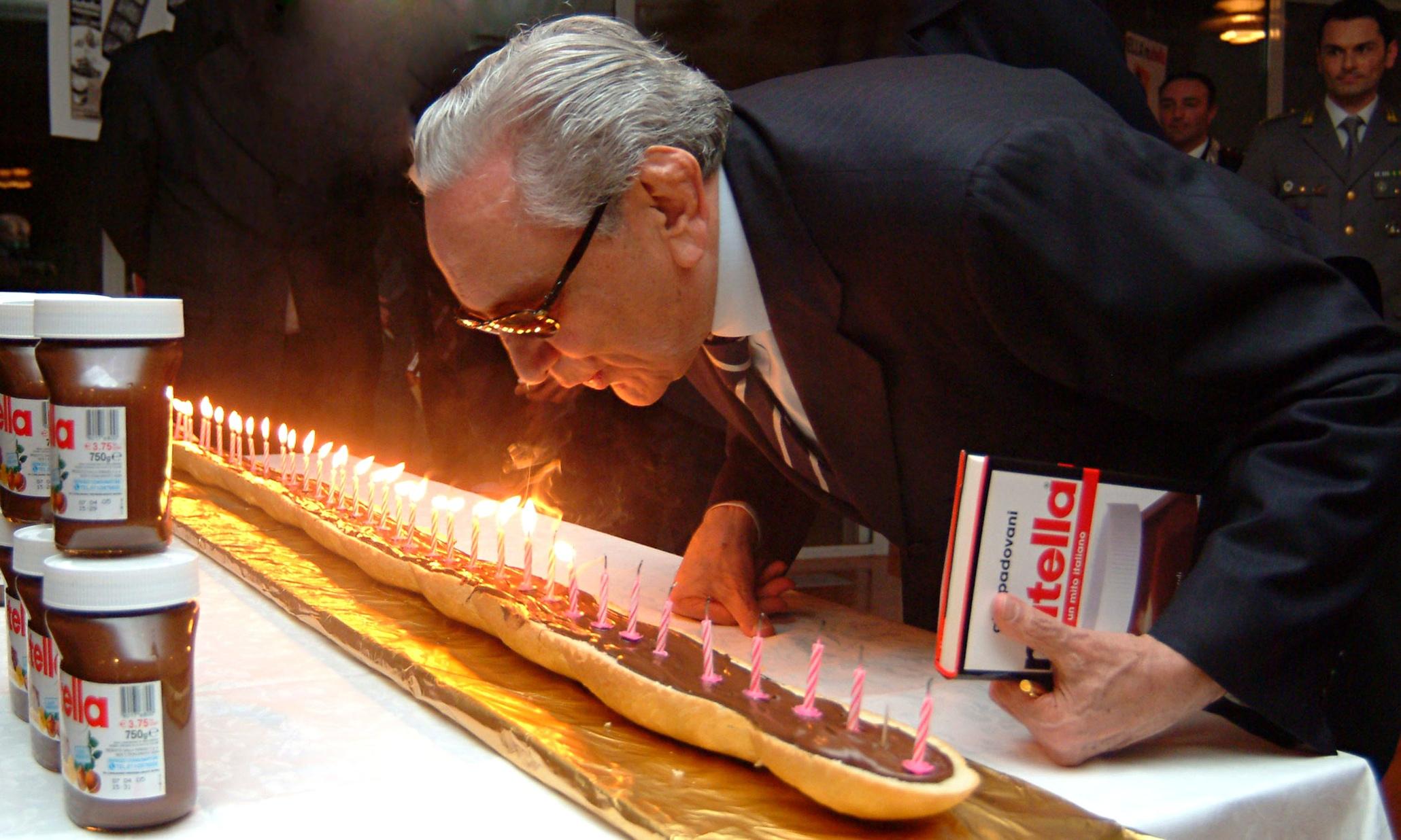 Michele Ferrero Obituary Business The Guardian