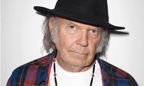 Neil Young – the new face of Supreme