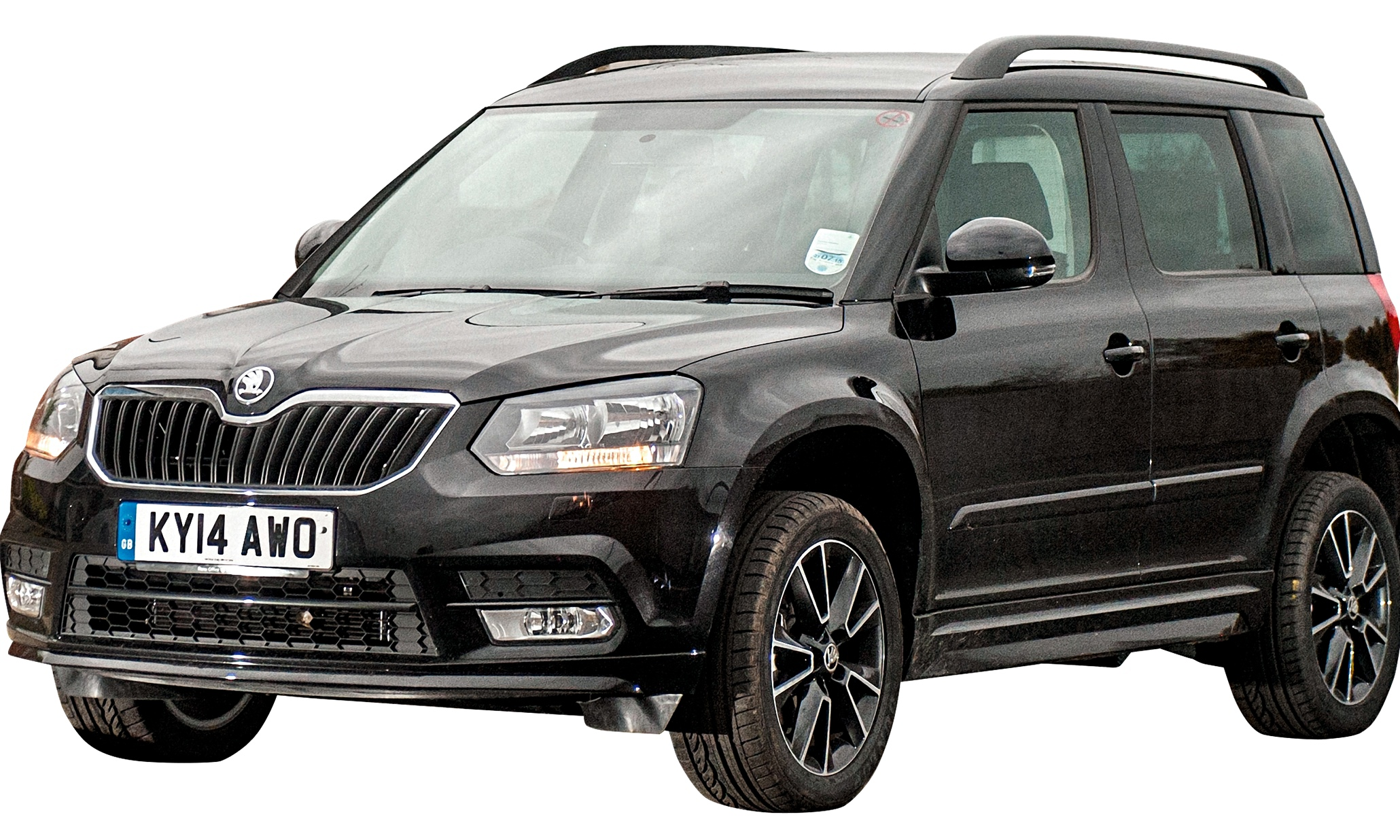 on the road skoda yeti black edition car review technology the guardian. Black Bedroom Furniture Sets. Home Design Ideas