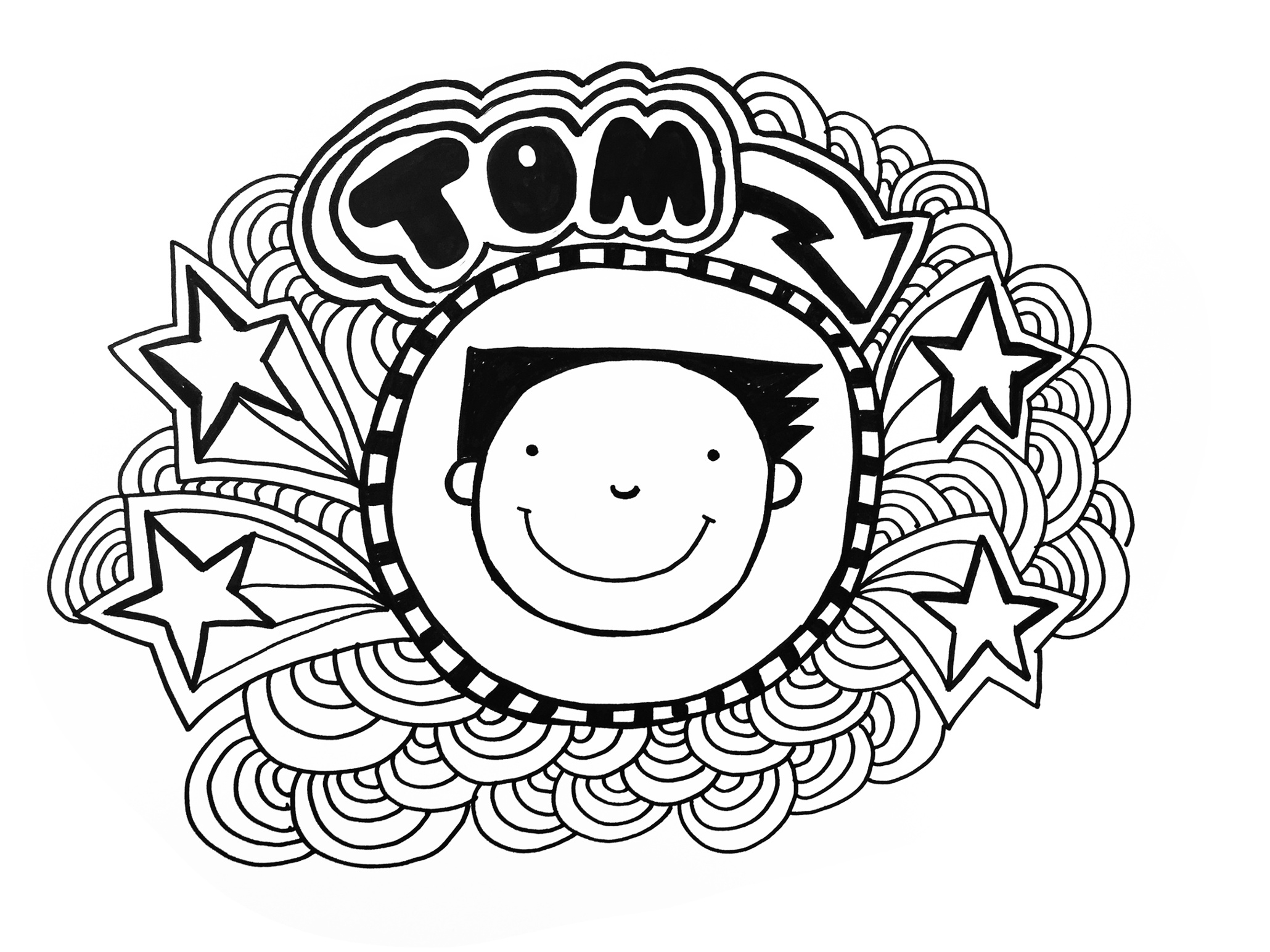 how to draw a tom gates doodles tom gates brilliant world. Black Bedroom Furniture Sets. Home Design Ideas