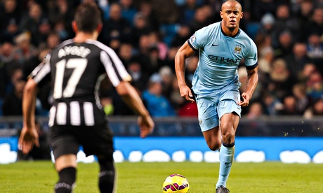 Vincent Kompany says Manchester City win over Newcastle shows title belief