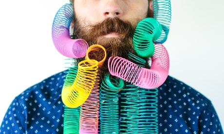 Is that a Slinky in your beard? Bizarre facial hair – in pictures