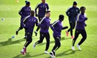 Manchester City ready to take on 'real' Barcelona, says Manuel Pellegrini - video