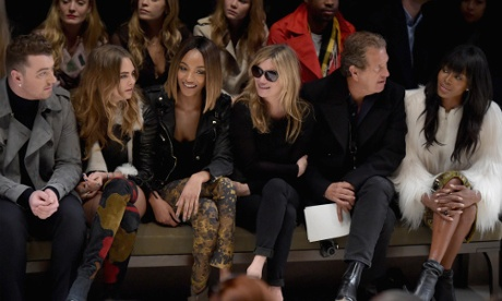 Time, tide and Burberry shows wait for no woman – not even Naomi Campbell