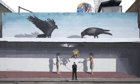 Tehran's answer to Banksy: Medhi Ghadyanloo hits Britain