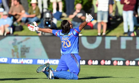 Afghanistan record famous Cricket World Cup victory over Scotland