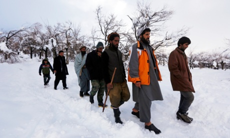 Afghanistan avalanches: more than 180 dead
