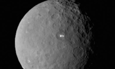 Nasa probe spots mysterious shiny patches on dwarf planet Ceres