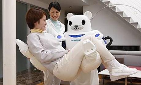 Robear: the bear-shaped nursing robot who'll look after you when you get old